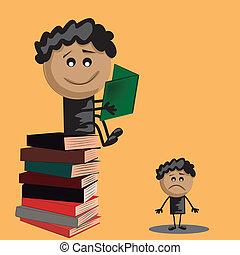 advantage of the books