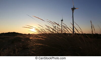 wind turbine 45 - wind turbines generating clean power at...