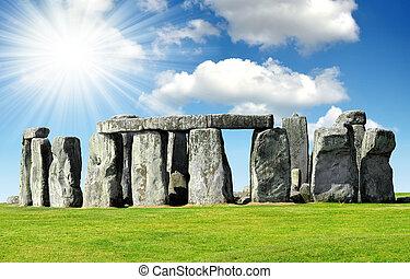Stonehenge - Historical monument Stonehenge,England,UK