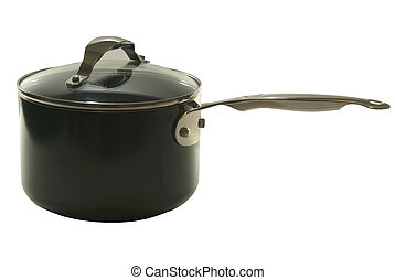 STAINLESS STEEL SAUCEPAN - stainless steel saucepan with lid...