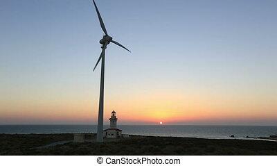 time lapse wind turbine 5