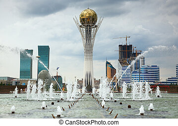 City landscape - Astana, capital of Kazakhstan Republic