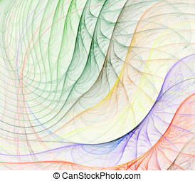 Colors Fanning Abstract - Abstract Background - Colorful...