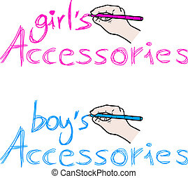 Style accessories - Creative design of style accessories