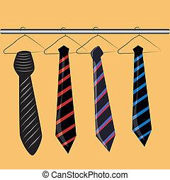 four neckties