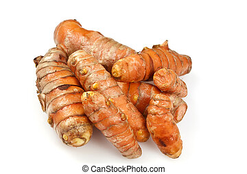 Fresh Turmeric or Curcuma Rhizome - It is a rhizome of...