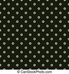 Floral pattern in simple style
