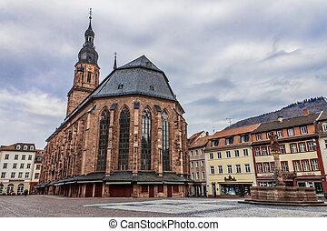 Heidelberg Heiliggeistkirche