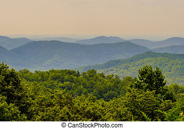 scenery around lake jocasse gorge - nature around upstate...