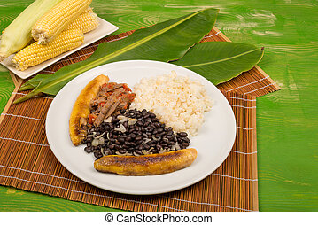 Venezuelan Pabellon Criollo, classic and homemade