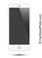 smartphone - general looking smartphone with slim body and...