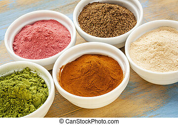 fruit and leaf powders - super fruit and leaf powders in...