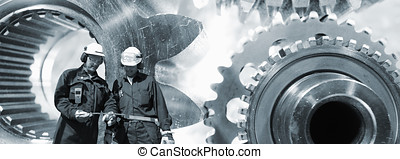 gear machinery and engineering - giant gear machinery with...