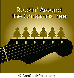 Christmas tree vector - Rockin\\\' around the Christmas tree...