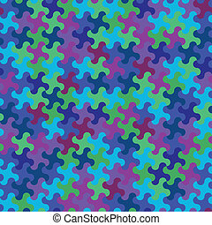 Funky Camo Pattern - Seamless Background