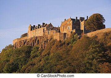 Stirling Castle - Perched high atop a volcanic outcrop and...