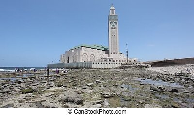 Hassan II Mosque, Morocco - Great Mosque of Hassan II in...