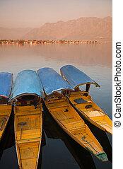 Dal lake, the tourist attractive destination in northern...