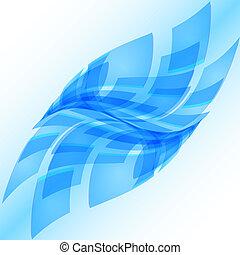 Abstract blue digital background. Illustration for design