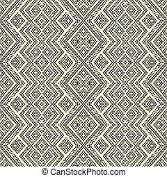 Repeating geometric tiles - Vector seamless pattern. Modern...
