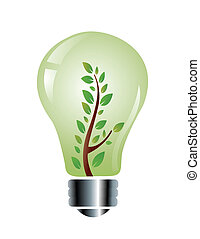 ecology friendly light bulb