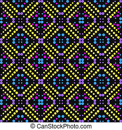 Repeating geometric tiles - Vector seamless pattern Modern...