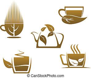 Herbal tea cups