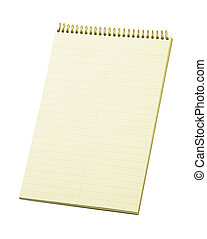 Stenographer's Lined Notepad - Stenography's lined notepad...