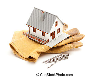 House, Gloves and Nails