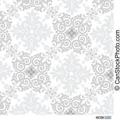Seamless retro pattern background Vector illustration