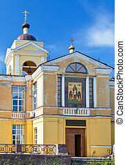 The temple of the martyr Andrey Kritsky in the suburb of...