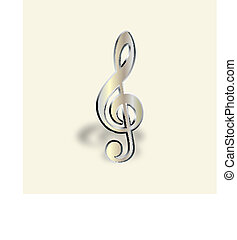 Graphic illustration of musical note