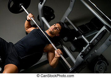Effort on the bench press - Bench Press Workout