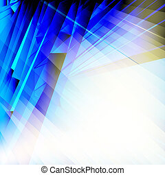 Abstract blue background - Abstract blue background, EPS10 -...