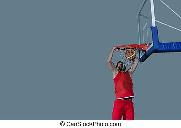 basketball player in action - basketball game sport player...