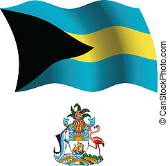 bahamas wavy flag and coat