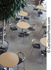 Canteen - An empty lunch area in an office
