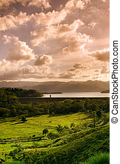 Lake close to the Arenal Volcano - View of the lake close to...