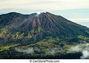 Active Volcano - This active volcano can be seen from the...