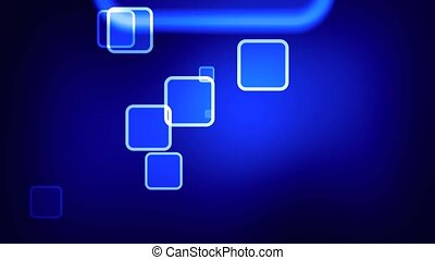 abstract blue - loop able background animation