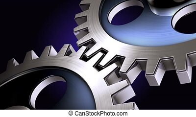 gears - loop able animation