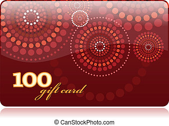 Shopping Gift Card 100 template - Shopping Gift Card 100...