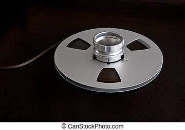Vintage Metal Audio Reel