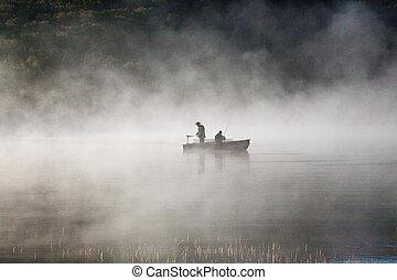 pescadores, Niebla
