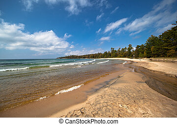 Lake Superior Sandy Beach Katherine Cove