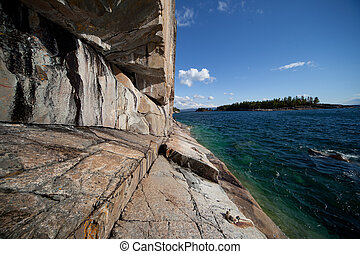 Lake Superior Agawa Rock - Lake Superior, Agawa Rock...