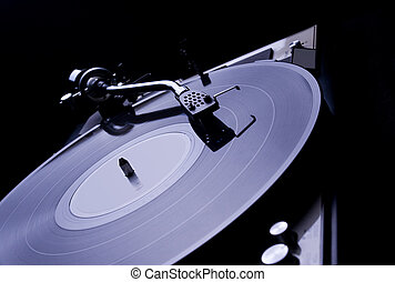 Turntable vinyl record player - Analog turntable vinyl...