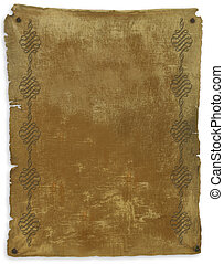 Old Parchment background decorated