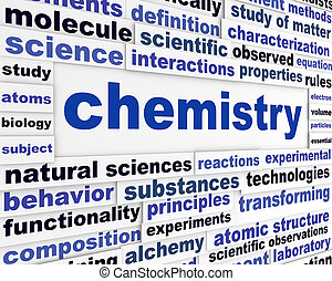 Chemistry scientific poster