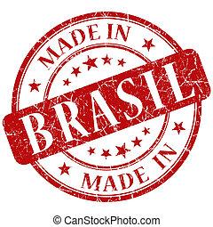 made in brasil stamp